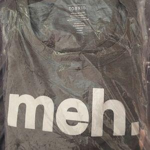 Brand New Torrid Meh Sweatshirt Size 1
